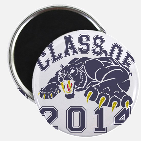 Class Of 2014 Saber-Tooth Tiger Magnet