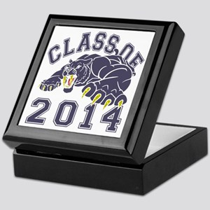 Class Of 2014 Saber-Tooth Tiger Keepsake Box