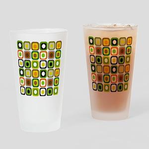 MCM squares 222 Duvet Drinking Glass