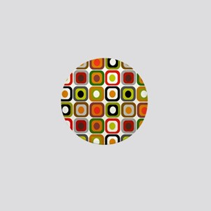 MCM squares 3 RED DUVET Mini Button