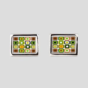 MCM 222 squares BLANKET Cufflinks