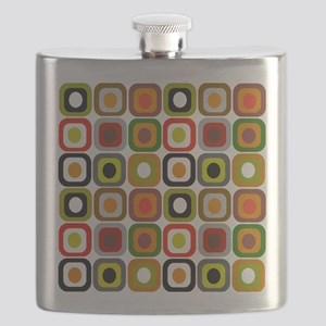 MCM squares 3 RED DUVET Flask