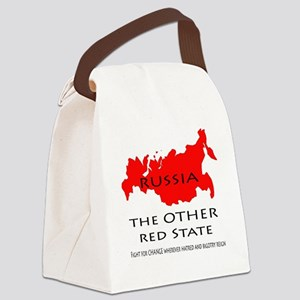 The Other Red State Canvas Lunch Bag