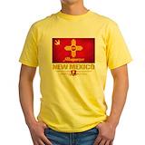 Albuquerque Mens Classic Yellow T-Shirts