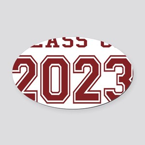Class of 2023 Oval Car Magnet
