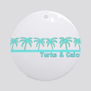 Turks & Caicos Ornament (Round)