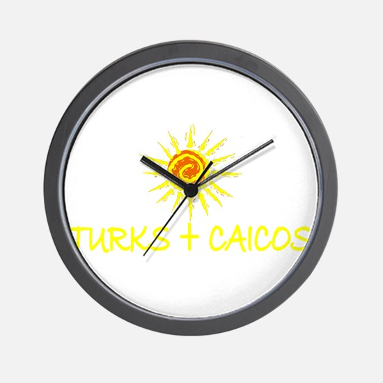 Turks & Caicos Wall Clock