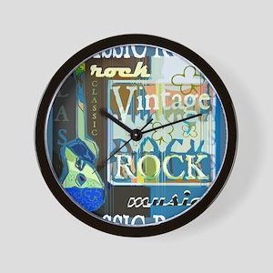 Classic Rock N Roll Wall Clock