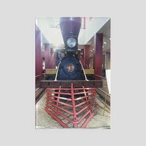 Texas Civil War Train Rectangle Magnet