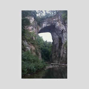 The Natural Bridge, Virginia  Rectangle Magnet