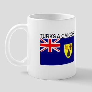 Turks & Caicos Flag Mug