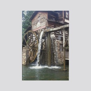Dollywood Grist Mill Rectangle Magnet