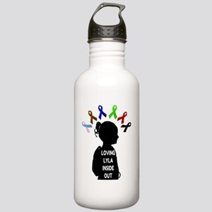 Loving Lyla Inside Out Stainless Water Bottle 1.0L