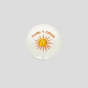 Turks & Caicos Mini Button