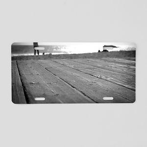 Laguna Beach Walk Aluminum License Plate