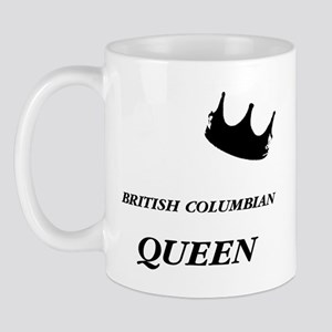 British Columbian Queen Mug