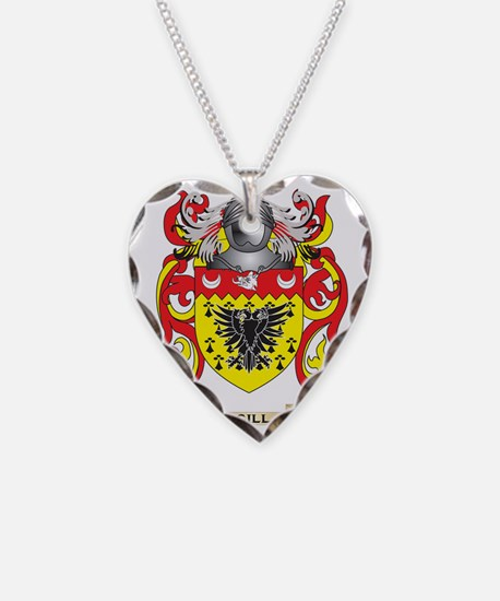 Gill-England Coat of Arms (Fa Necklace