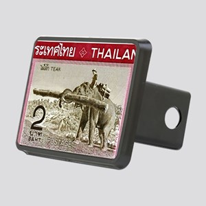 1968 Thailand Working Elep Rectangular Hitch Cover