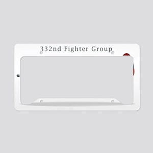 332 Fighter Group P-47C License Plate Holder