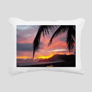 Sunset - Jaco Beach Rectangular Canvas Pillow