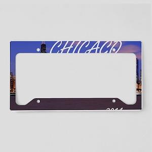 chicago 2014 License Plate Holder