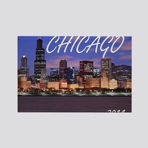 chicago 2014 Rectangle Magnet