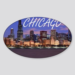 chicago 2014 Sticker (Oval)