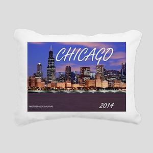 chicago 2014 Rectangular Canvas Pillow