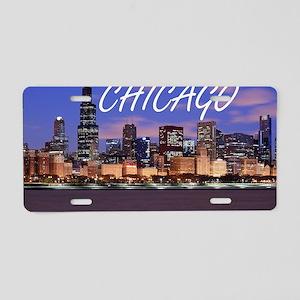 chicago 2014 Aluminum License Plate