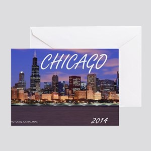 chicago 2014 Greeting Card