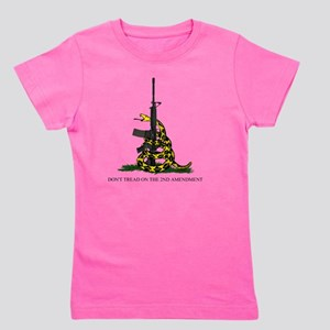 Gadsden Flag - 2nd Amendment Girl's Tee