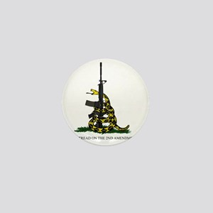 Gadsden Flag - 2nd Amendment Mini Button
