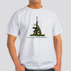 Gadsden Flag - 2nd Amendment Light T-Shirt