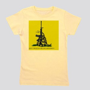 Gadsden Flag - Dont Tread on the 2nd Am Girl's Tee