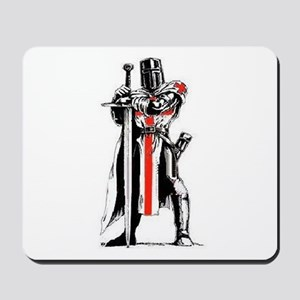 Templar Knight Mousepad