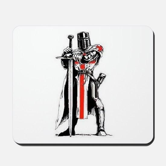 Templar Knight Mousepad