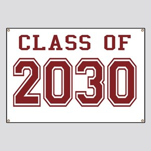 Class of 2030 (Red) Banner