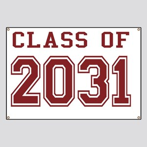 Class of 2031 (Red) Banner