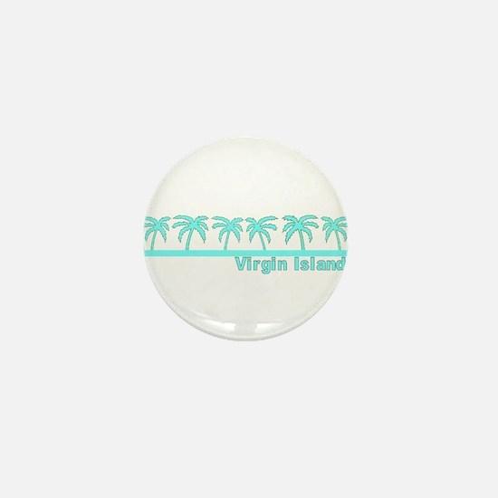 Virgin Islands Mini Button