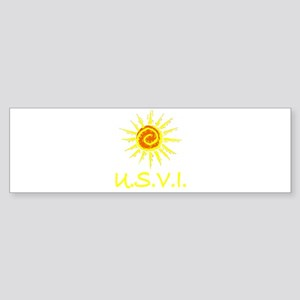 U.S.V.I. Bumper Sticker