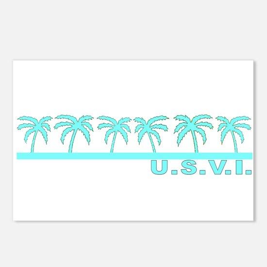 U.S.V.I. Postcards (Package of 8)