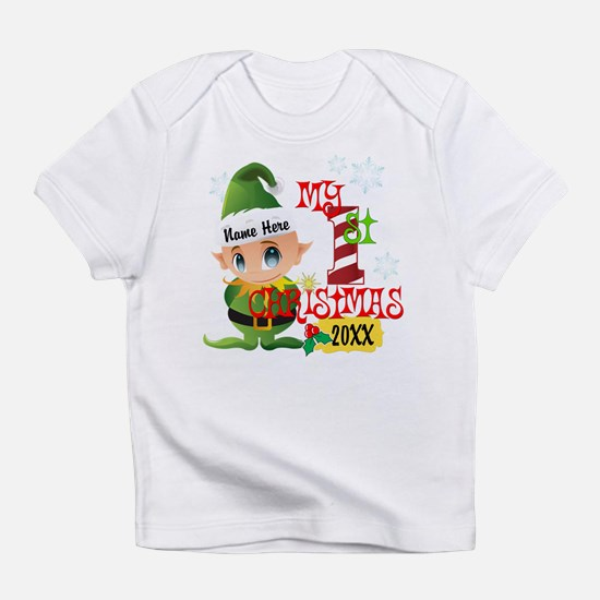 Baby Elf 1st Christmas Infant T-Shirt