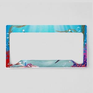 The Mermaid License Plate Holder