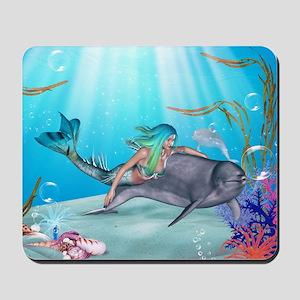 The Mermaid Mousepad