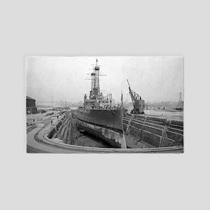 Brooklyn Navy Yard Dry Dock 3'x5' Area Rug