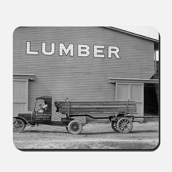 Early Ford Tractor Trailer Mousepad