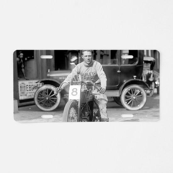 Harley-Davidson Motorcycle  Aluminum License Plate