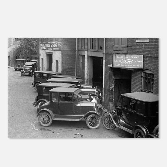 Ford Sales and Service Postcards (Package of 8)
