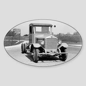 Heavy Duty Truck Sticker (Oval)