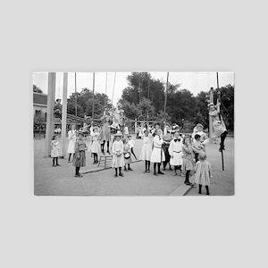 Girls Playground 3'x5' Area Rug
